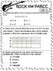 PARCC-Like Test Prep 5th Grade Math