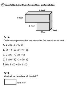PARCC-Like Volume Assessment