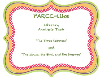 PARCC Literary Analysis Task