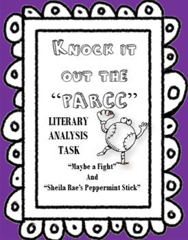 PARCC Literary Analysis Task Assessment