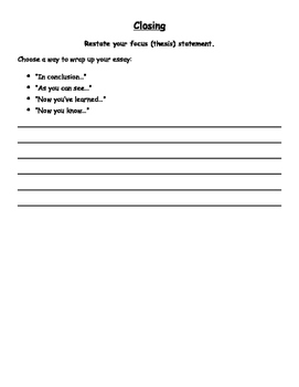 PARCC Literary Analysis Task Drafting Booklet