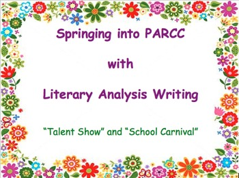 PARCC Literary Analysis Writing
