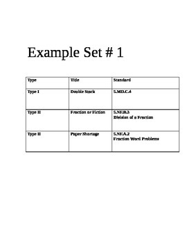 PARCC MATH Sample Test 4/5/6 Grade