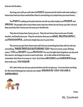parcc motivation letter