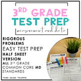 PARCC Math 3rd Grade Measurement and Data Standards