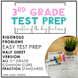 PARCC Math 3rd Grade Fractions