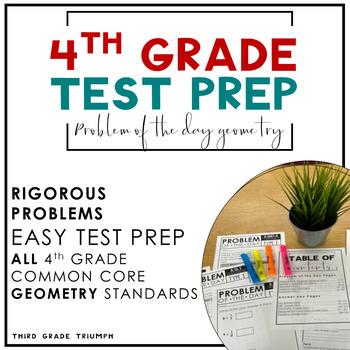 PARCC Math 4th Grade Geomertry Standards