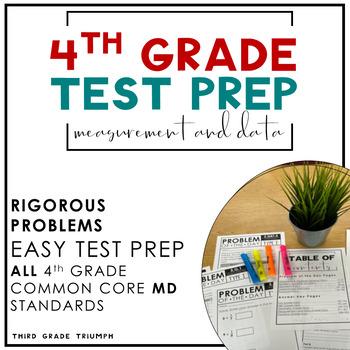 PARCC Math 4th Grade Measurement and Data Standards