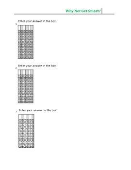 PARCC Math Answer Grid-Two Formats