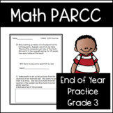 PARCC-Like Math EOY Practice Test: 3rd Grade