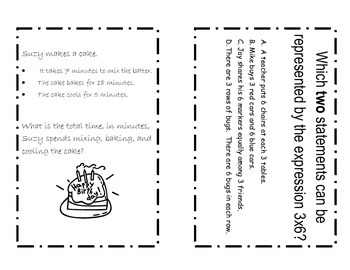 PARCC Math Task Cards