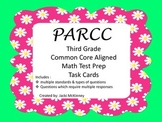 PARCC Math Test Prep Task Cards Third Grade