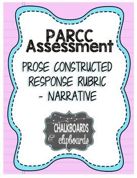 PARCC Narrative Writing Rubric, Grades 3-4-5