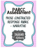 PARCC Narrative Writing Rubric, Grades 3-4-5