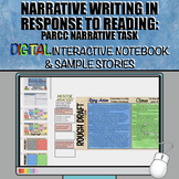 PARCC Narrative Writing Task: Digital Interactive Notebook and Sample Stories