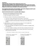 PARCC PBA Practice Test I
