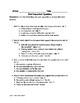 PARCC PREP: Part A/ Part B Questions (Poem)