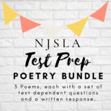 PARCC PREP Poetry Bundle PART A/ PART B Questions
