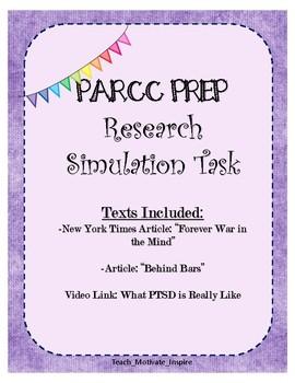 PARCC PREP RESEARCH SIMULATION TASK