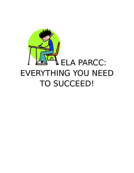 ELA PARCC PREP:  a FIFTEEN DAY UNIT TO SEND STUDENTS' SCORES THROUGH THE ROOF!