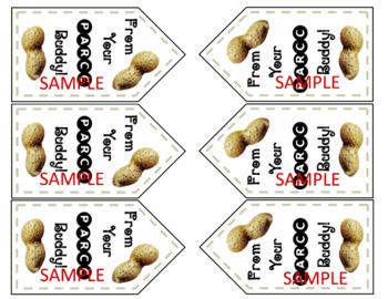 PARCC Peanut Gift Tag