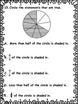 PARCC Practice: 3rd Grade Math
