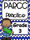 PARCC Practice: 3rd Grade Math Bundle