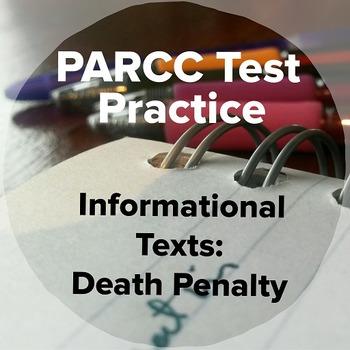 PARCC Smarter Balanced AIR Practice Informational Texts:  Death Penalty