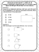 PARCC Practice MATH - Perimeter and Area with Answer Key
