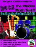 PARCC Practice Math Bundle {Middle Grades}