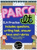 PARCC Practice - Nonfiction Paired Texts with Answer Key