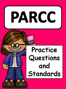 PARCC Practice: Prep for 3rd Grade Math