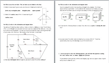 PARCC Practice Problems for Middle School Geometry and Math
