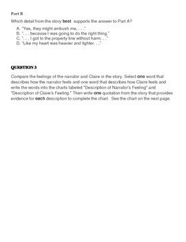 PARCC Practice Test ELA 5th grade