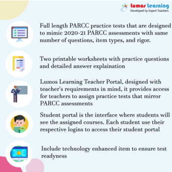 PARCC Practice Test, Worksheets and Remedial Resources - Grade 3 Math Test Prep
