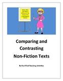 NJSLA ELA Test Practice- Women's History- Comparing Informational Texts-