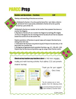 PARCC Prep Doodle Bug Fractions