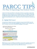 PARCC Prep: Five Tips To Empower Your Students