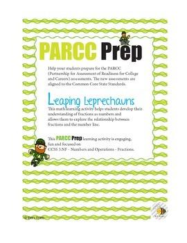 PARCC Prep Leprechauns Leap! Fractions