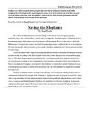 PARCC / MCAS Prep- Research Simulation Writing Task