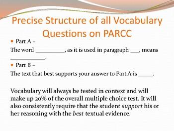 PARCC Preparation - Round 2 (In-depth)