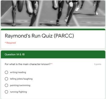 Raymond's Run quiz - PARCC