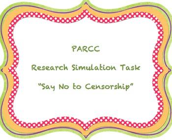 PARCC Research Simulation Task