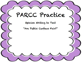 PARCC Research Simulation Writing