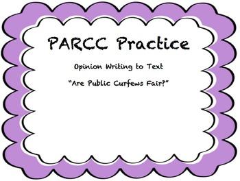 PARCC Research Simulation Writing