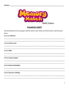 PARCC / MCAS Review Game