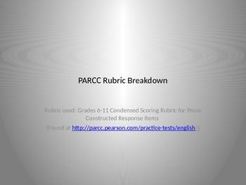 PARCC Rubric Breakdown