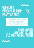 Geometry PARCC Practice Test