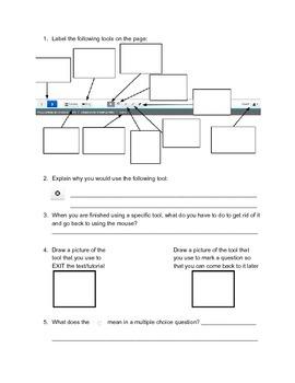 PARCC Scavenger Hunt - Grades 3-5 Math