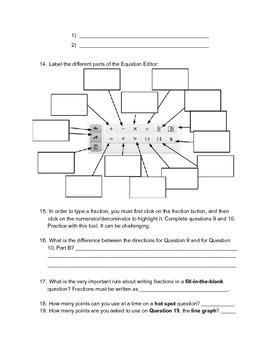 PARCC Scavenger Hunt - Grade 8 Math